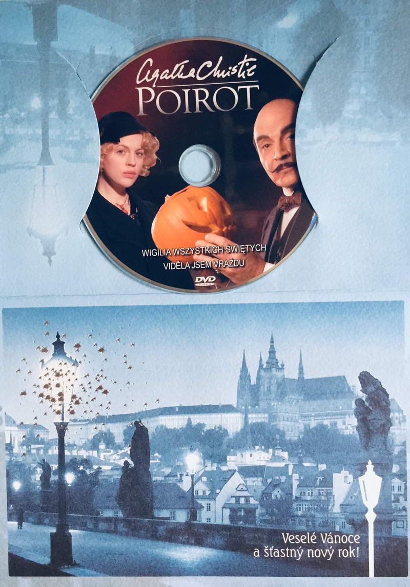 Poirot - Viděla jsem vraždu - DVD /dárkový obal/