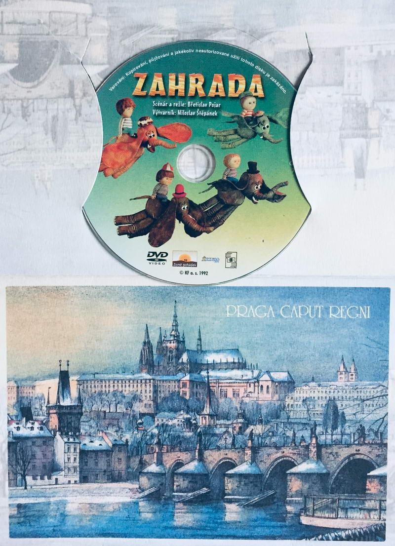 Zahrada - DVD /dárkový obal/