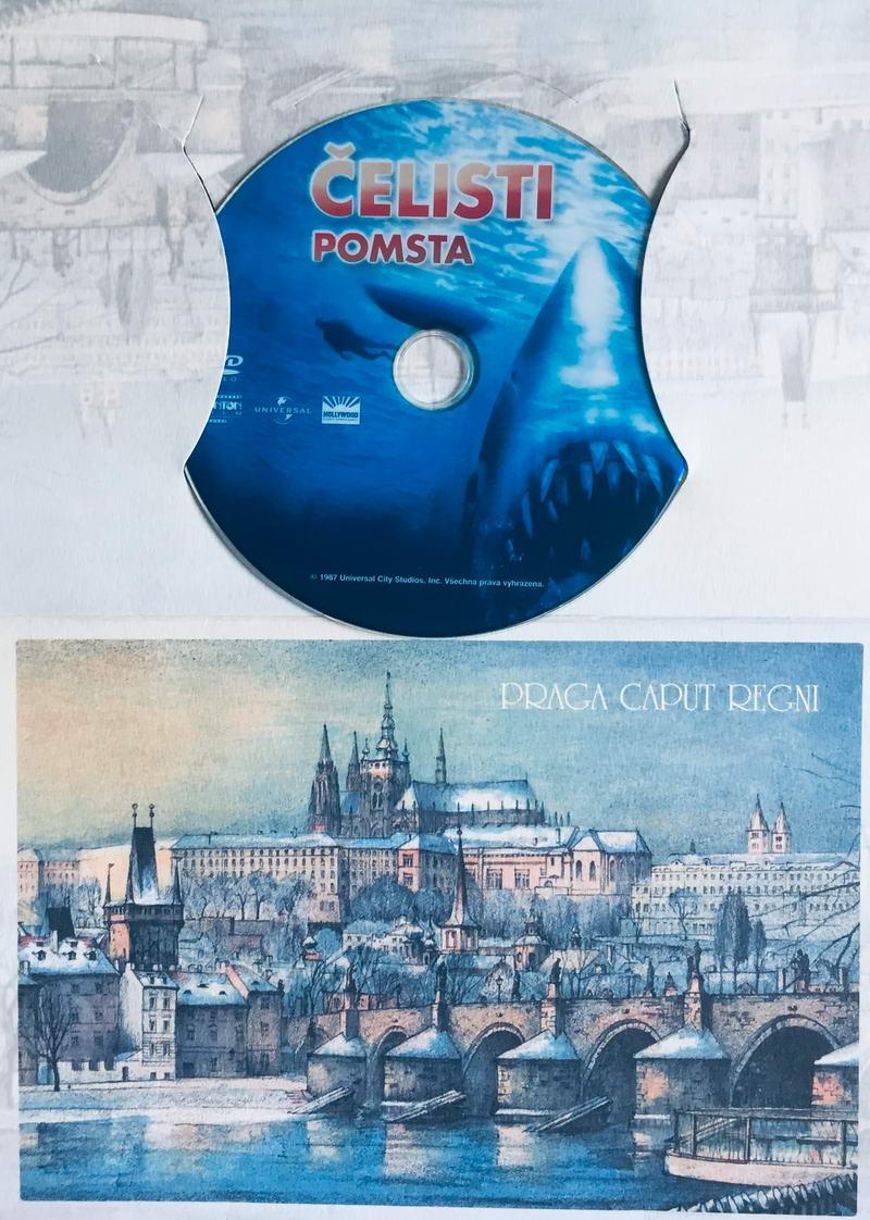 Čelisti - Pomsta - DVD /dárkový obal/