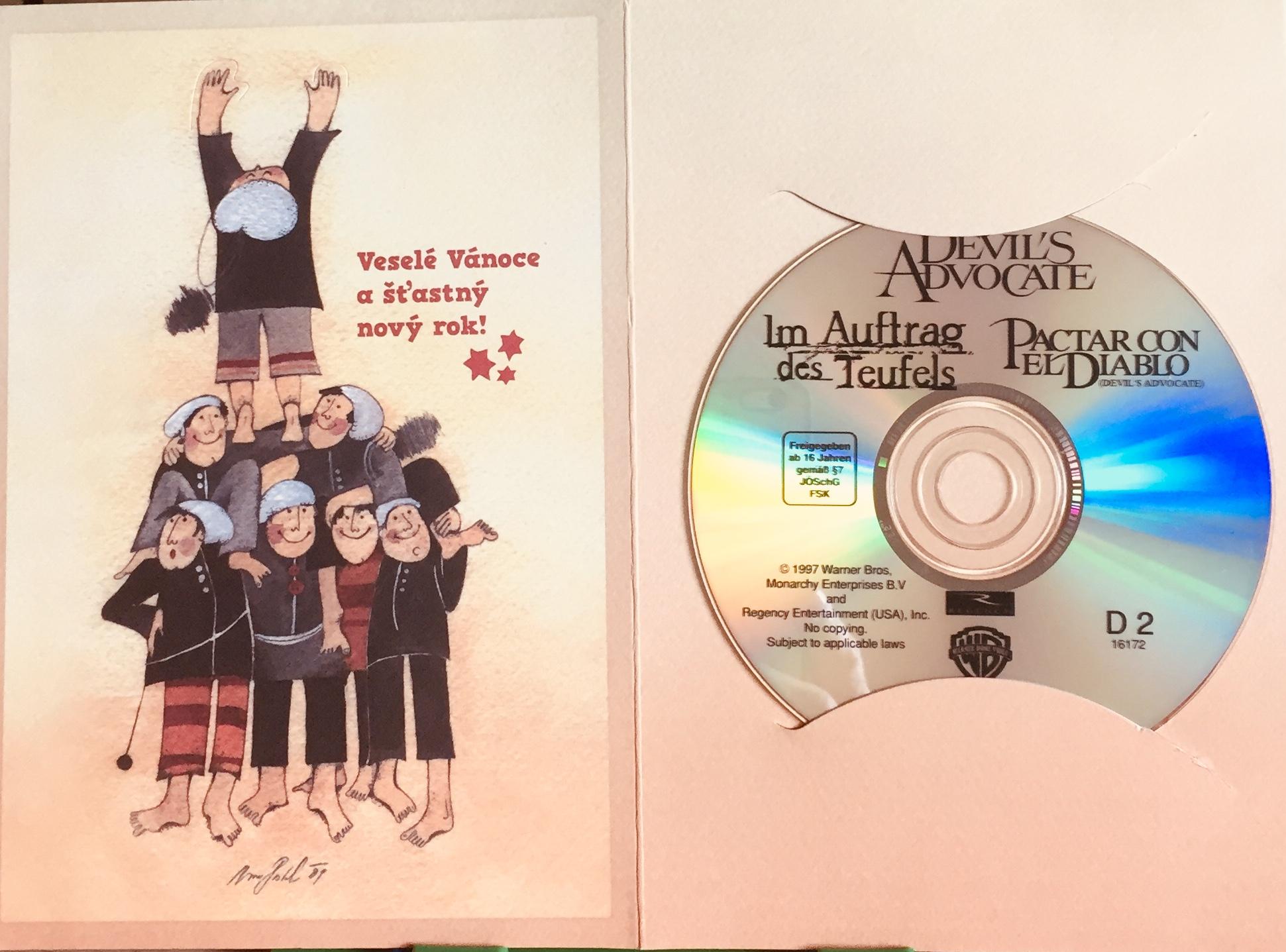 Devil's Advocate / Ďáblův advokát - DVD /dárkový obal/
