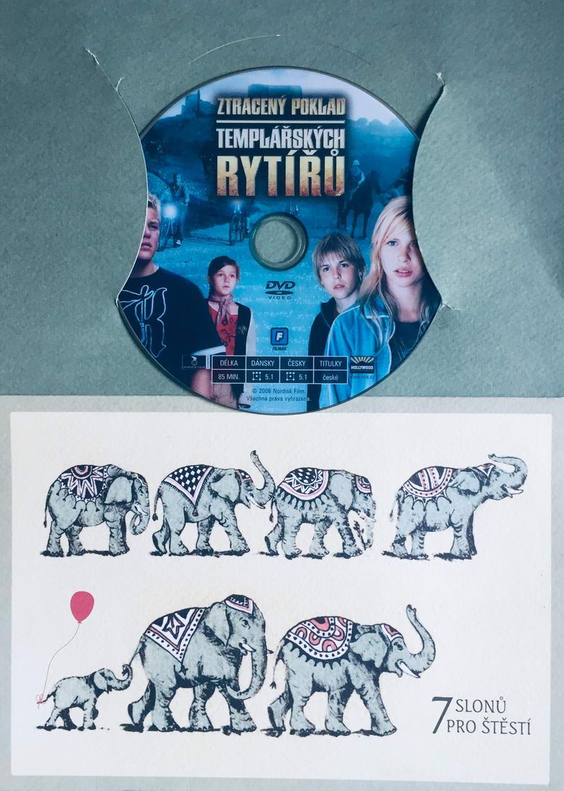 Ztracený poklad Templářských rytířů - DVD /dárkový obal/