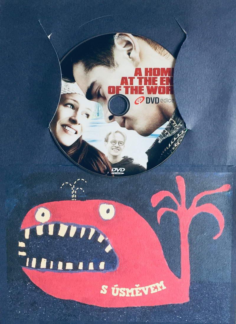 A Home at the End of the World / Tři do páru - DVD /dárkový obal/