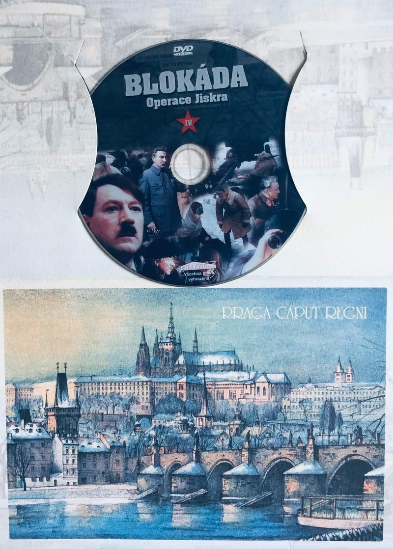 Blokáda IV: operace Jiskra - DVD /dárkový obal/