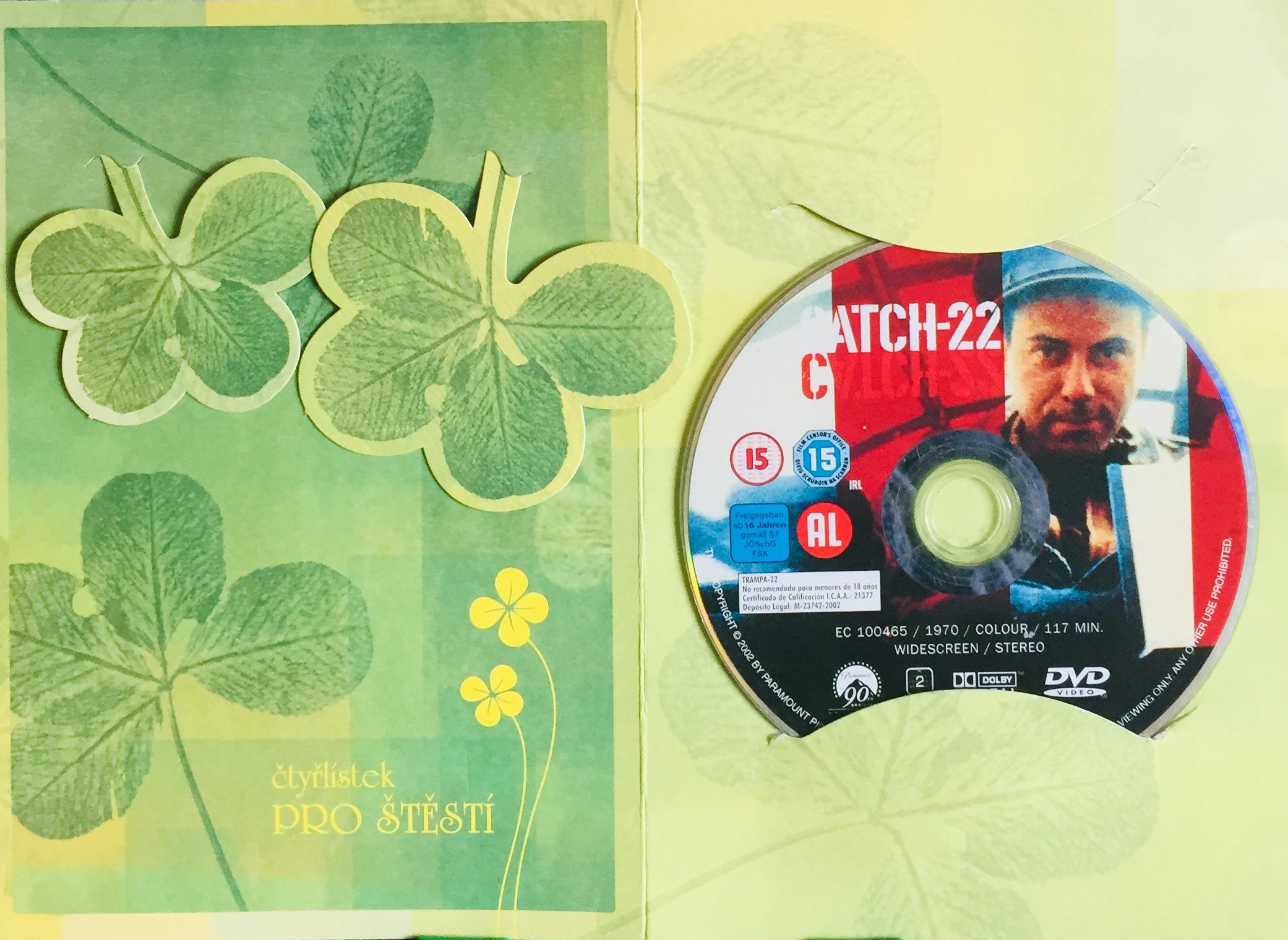 Catch 22 / Hlava 22 - DVD /dárkový obal/