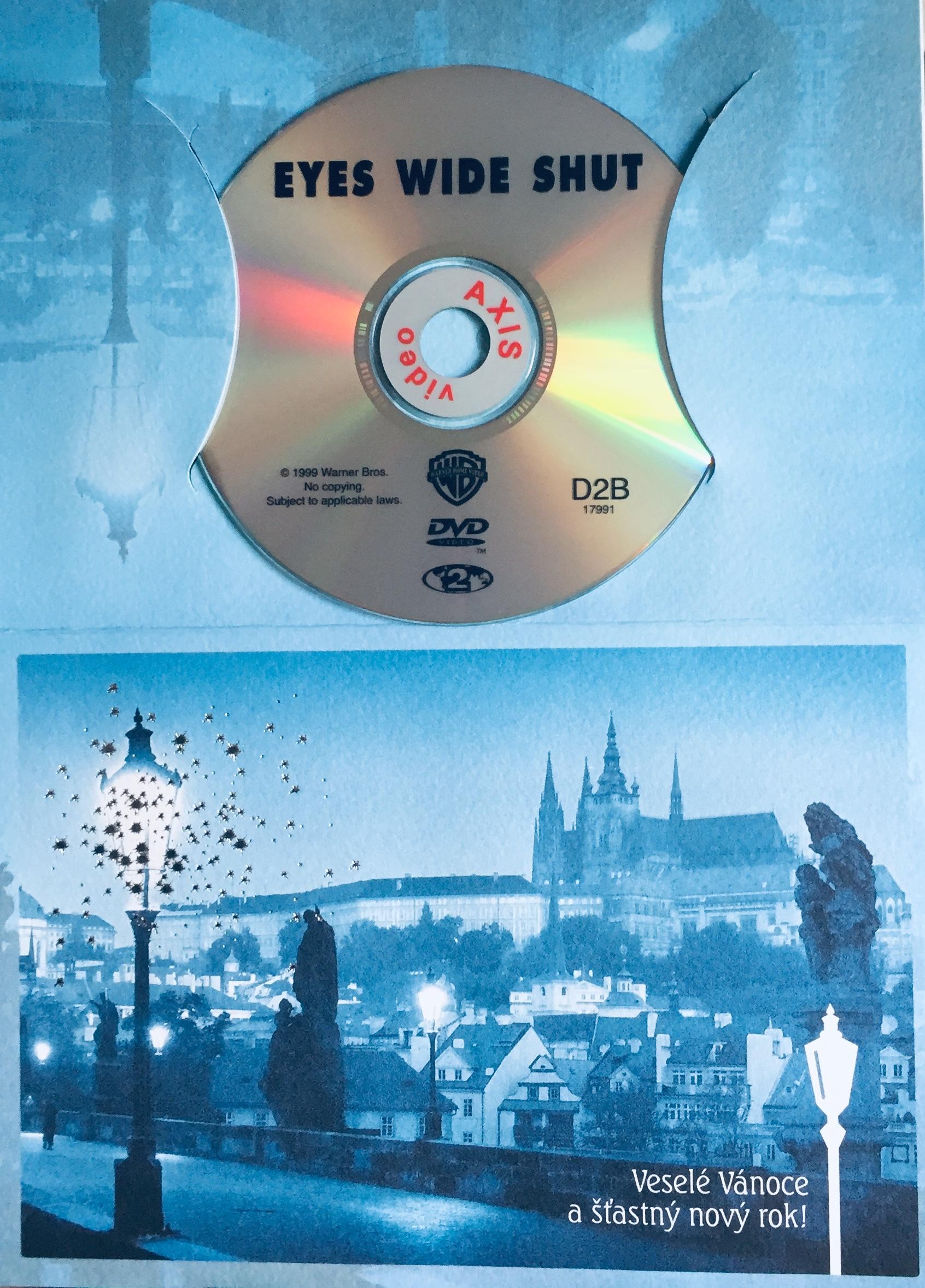 Eyes Wide Shut / Spalující touha - DVD /dárkový obal/