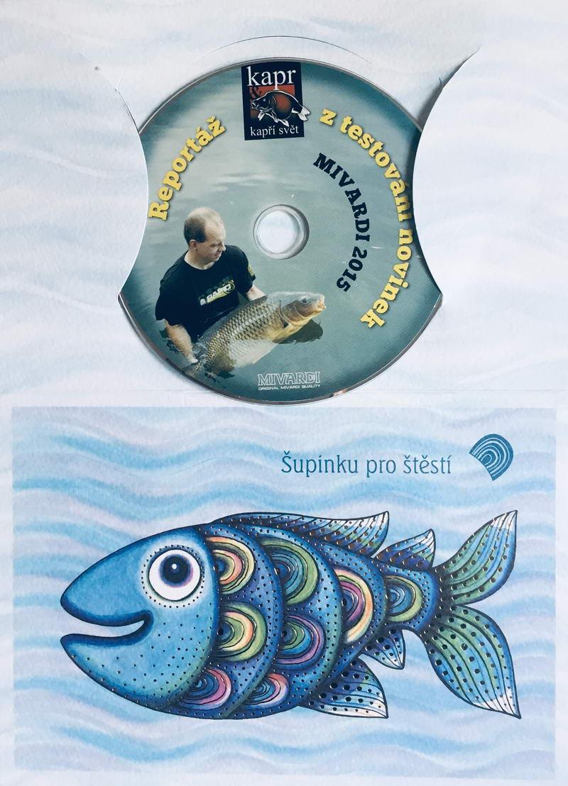Kapr & kapří svět - Mivardi 2015  - DVD /dárkový obal/