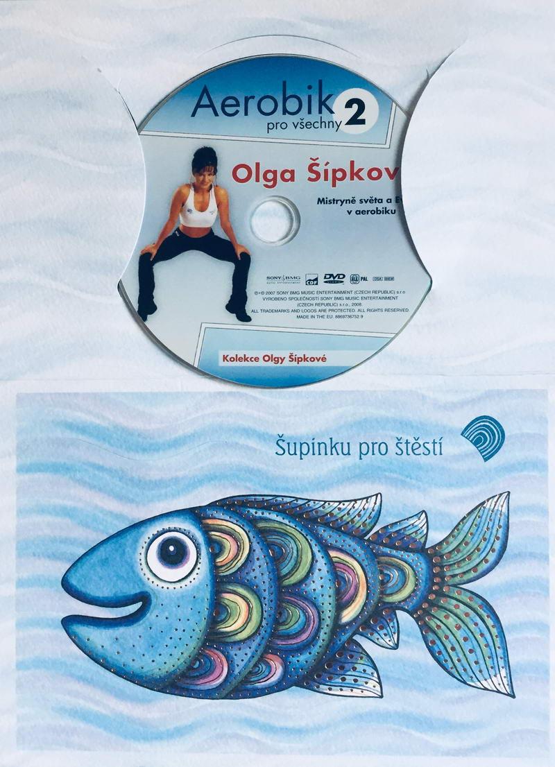 Aerobik pro všechny 2 - Olga Šípková  - DVD /dárkový obal/