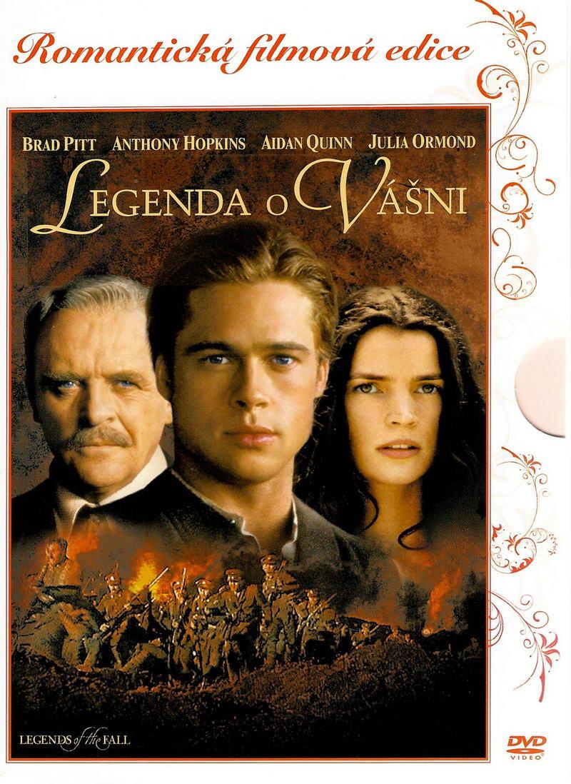 Legenda o vášni - DVD digipack