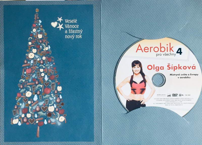 Aerobik pro všechny 4 - Olga Šípková  - DVD /dárkový obal/