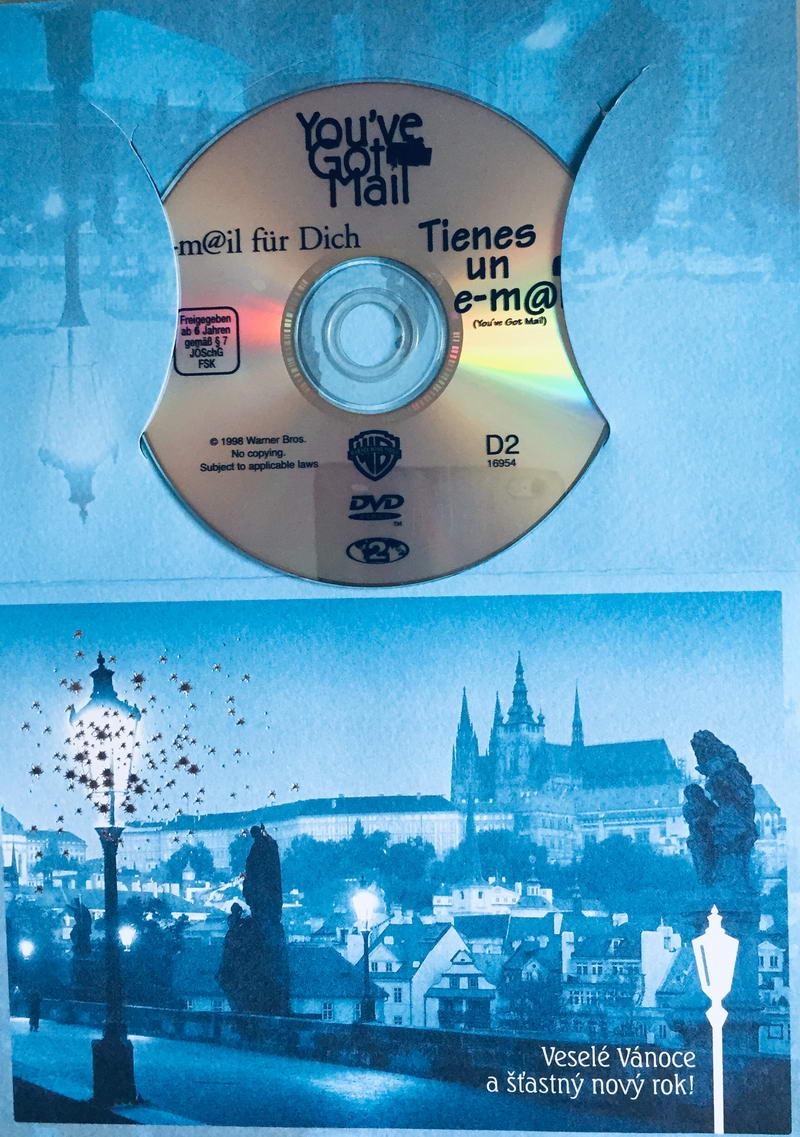 You've Got Mail / Láska přes internet  - DVD /dárkový obal/