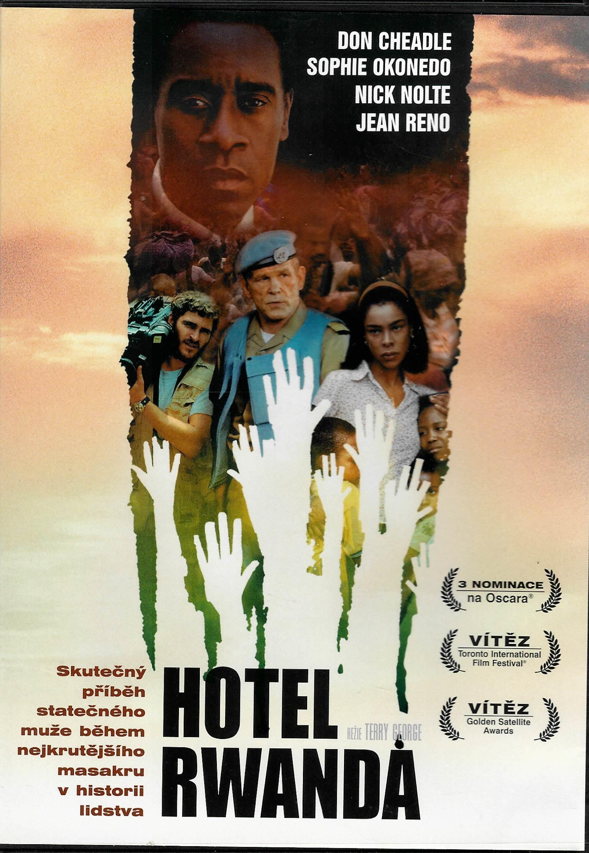 Hotel Rwanda - DVD plast