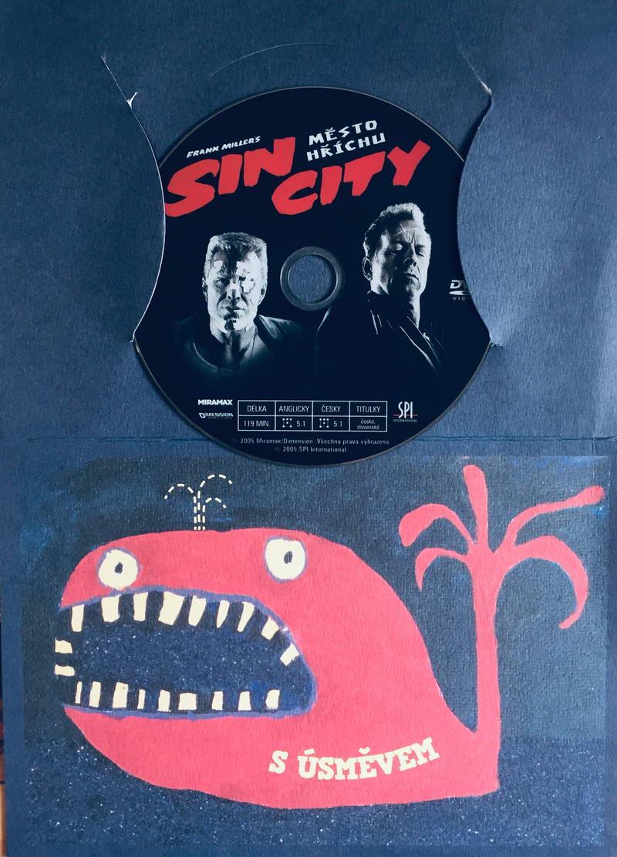 Sin City - Město hříchu - DVD /dárkový obal/
