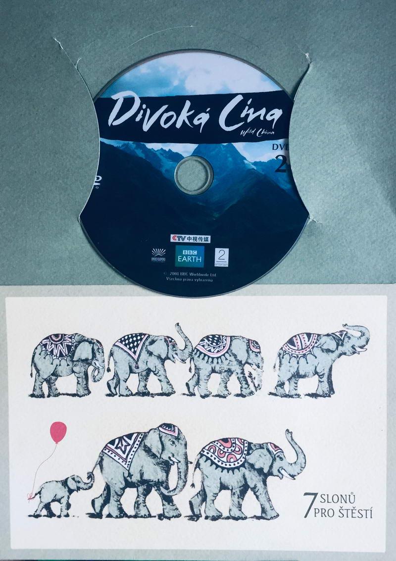 Divoká Čína 2 - DVD /dárkový obal/