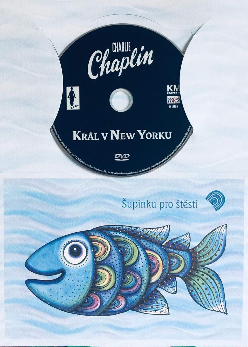 Charlie Chaplin - Král v New Yourku - DVD /dárkový obal/