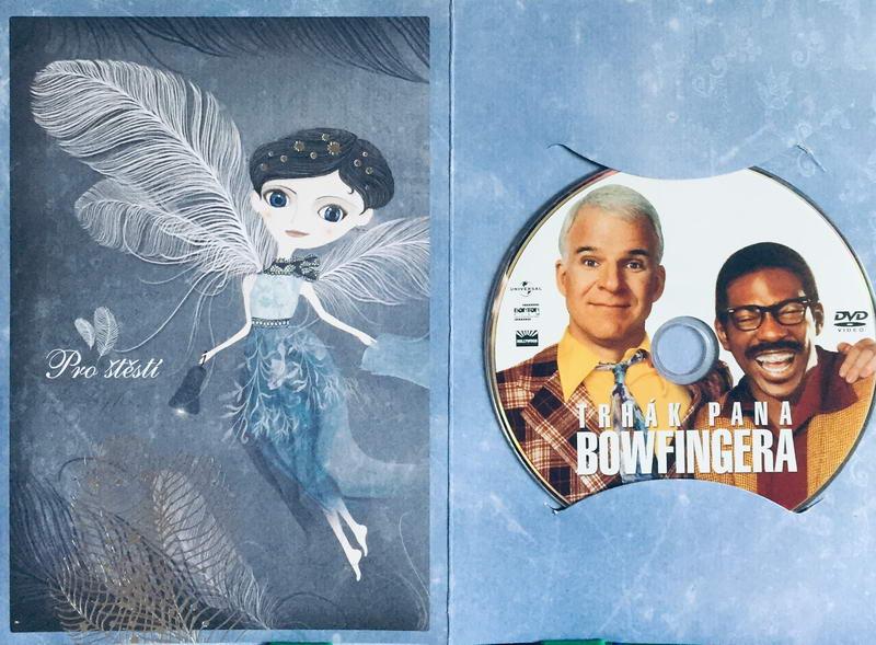 Trhák pana Bowfingera - DVD /dárkový obal/