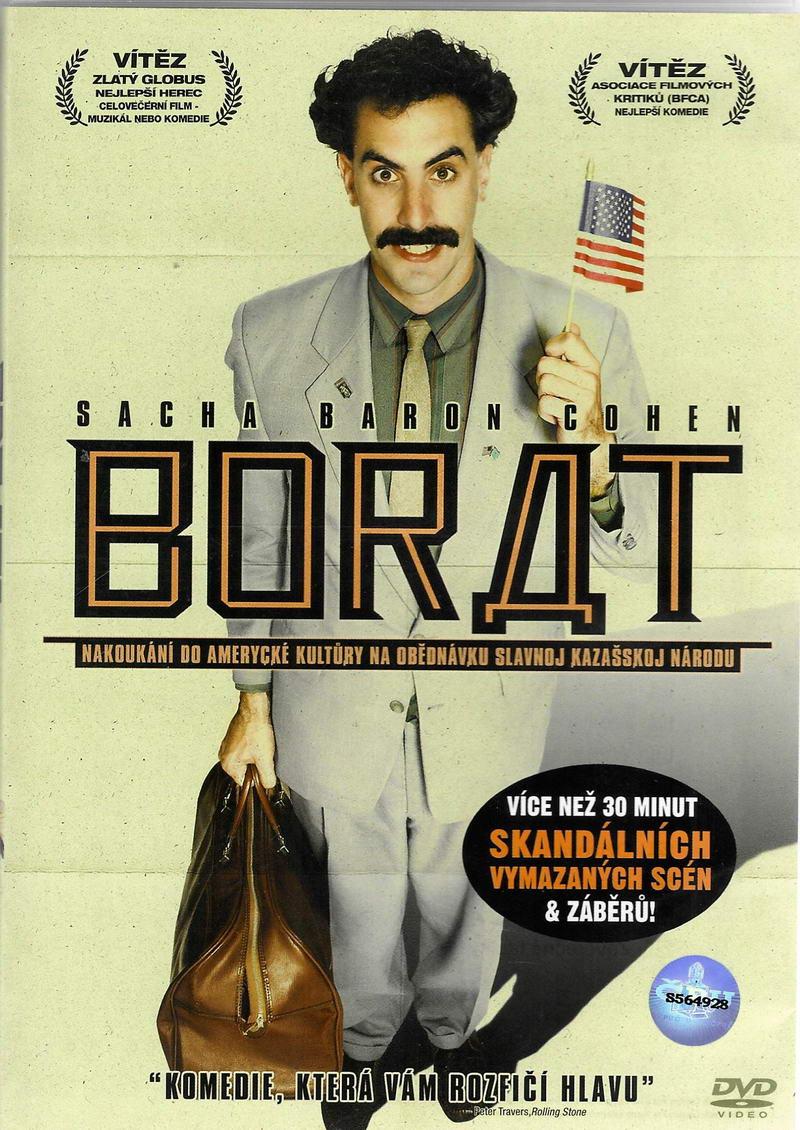 Borat: Nakoukání do amerycké kultůry na obědnávku slavnoj kazašskoj národu - DVD plast