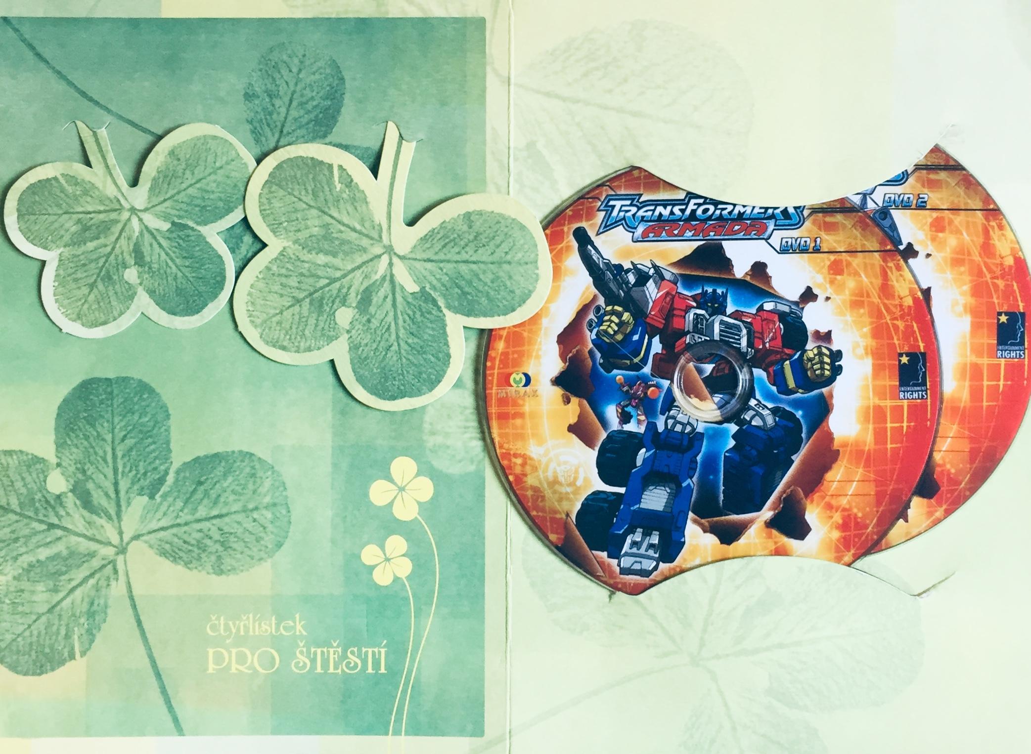 Transformers Armada 1, 2 - DVD /dárkový obal/