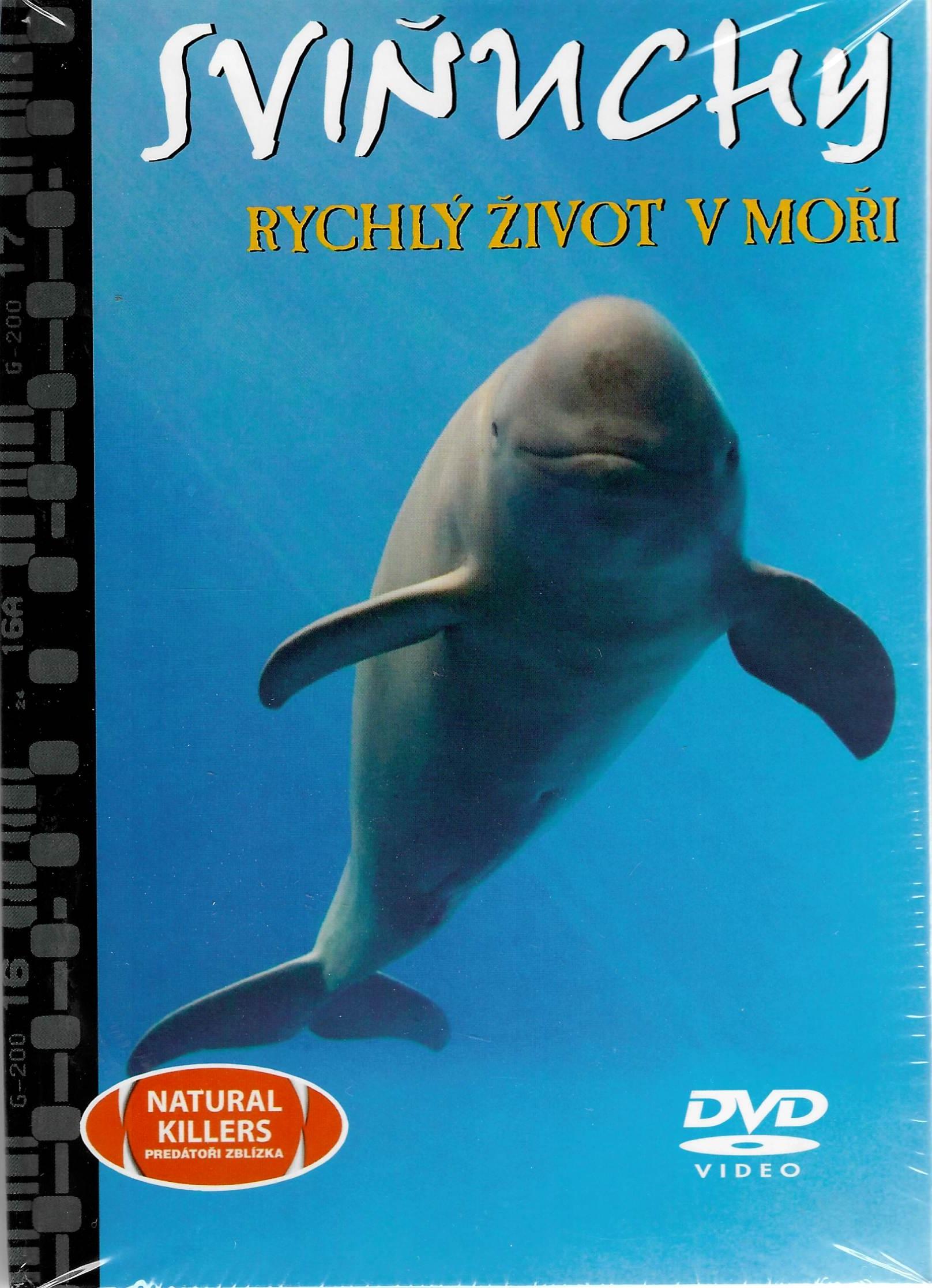 Sviňuchy - Rychlý život v moři - DVD + brožura