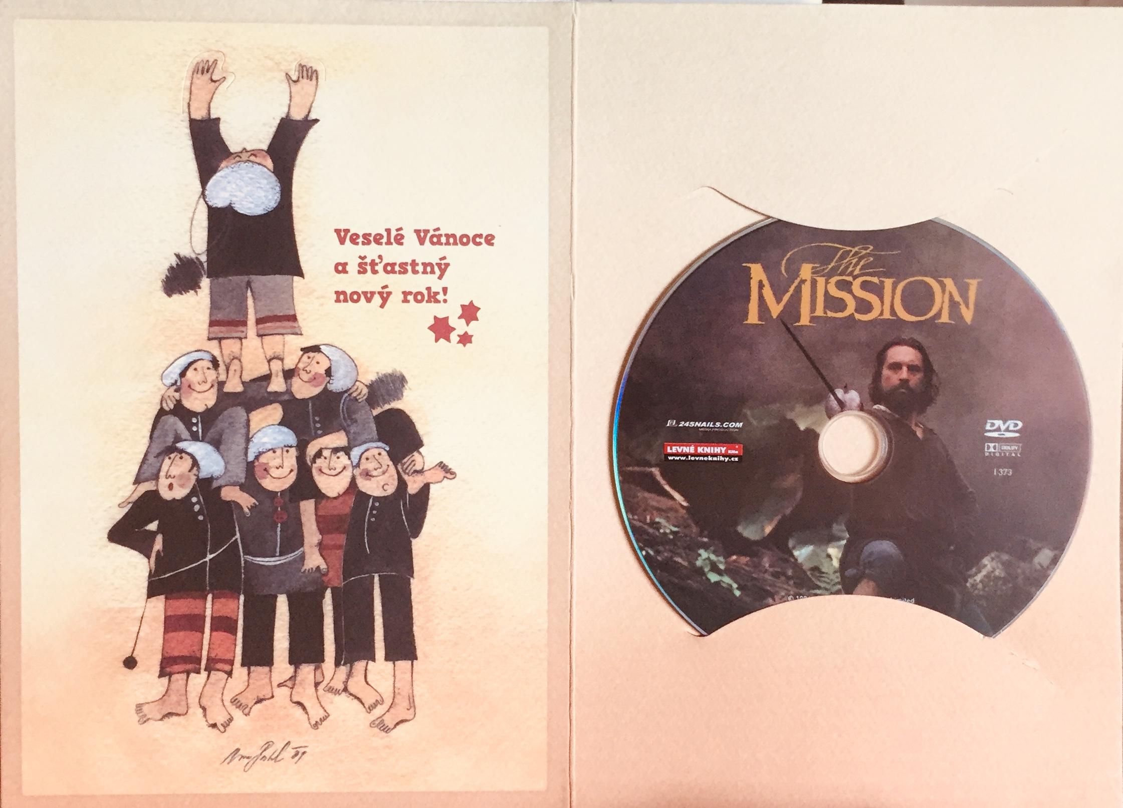 The Mission / Mise - DVD /dárkový obal/