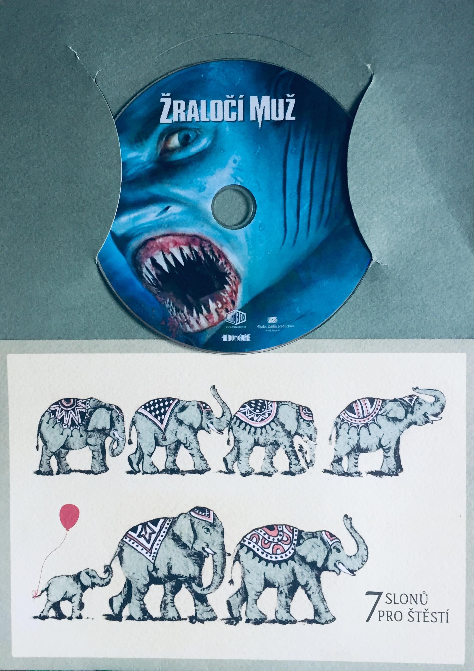 Žraločí muž - DVD /dárkový obal/
