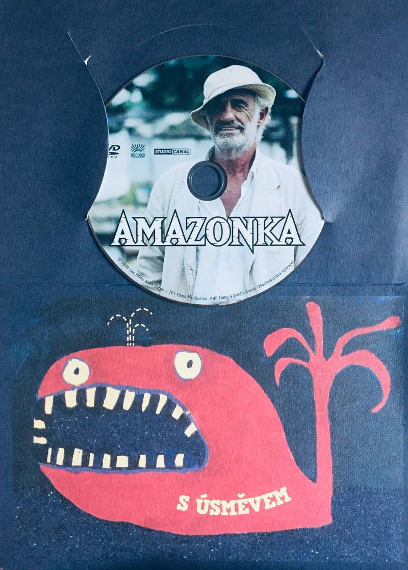 Amazonka - DVD /dárkový obal/