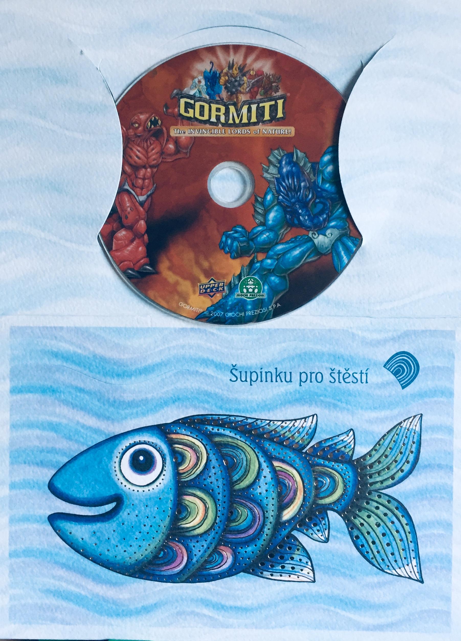 Gormiti - The Invincible Lords of Nature! / Nepřemožitelní vládci přírody! - DVD /dárkový obal/