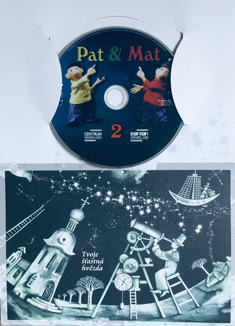 Pat a Mat 2 - DVD /dárkový obal/
