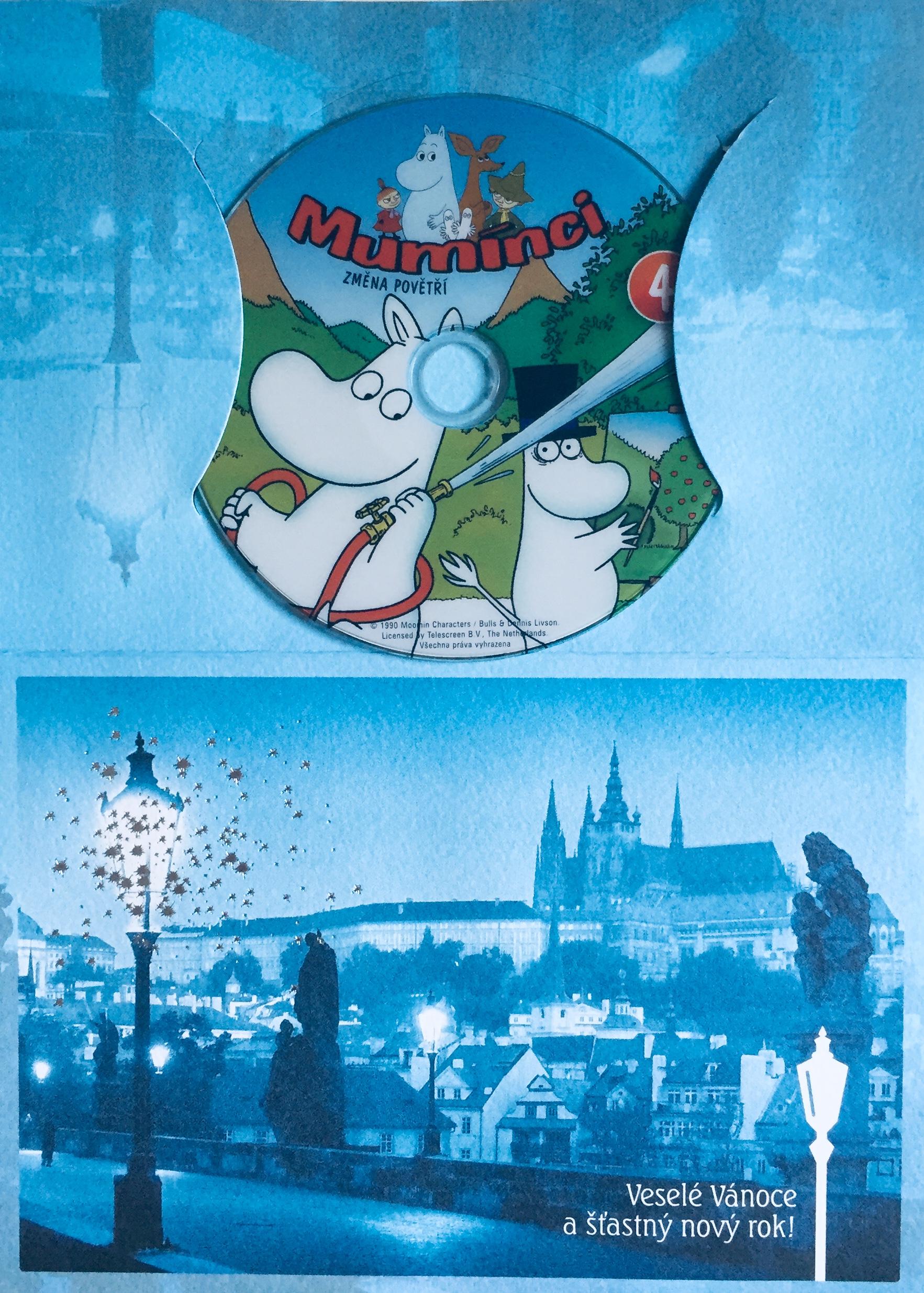 Mumínci 4 - Změna povětří - DVD /dárkový obal/