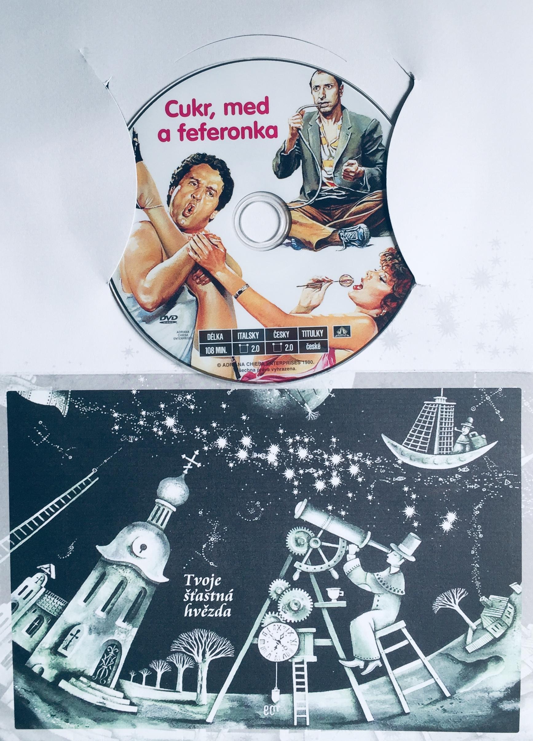 Cukr, med a feferonka - DVD /dárkový obal/