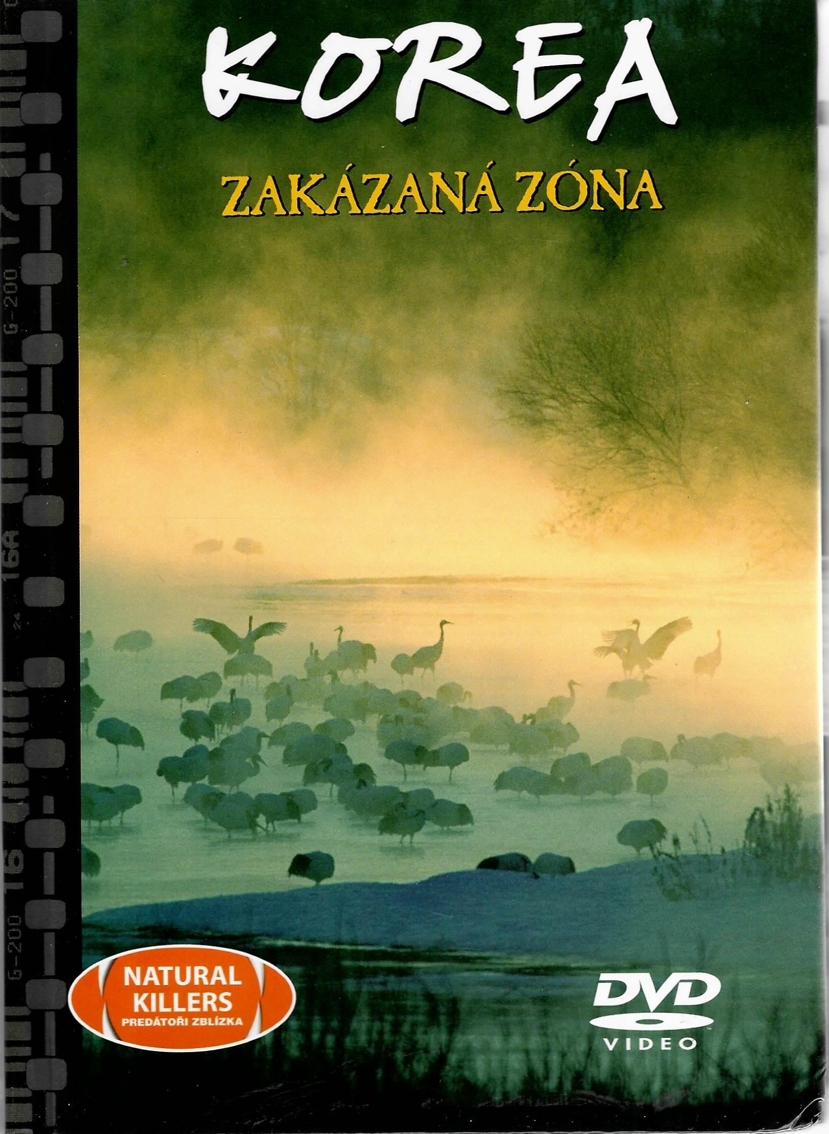 Korea - Zakázaná zóna - DVD + brožura