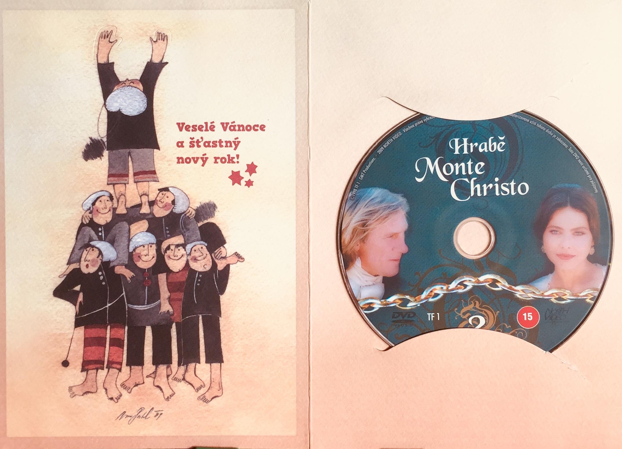 Hrabě Monte Christo 2 - DVD /dárkový obal/