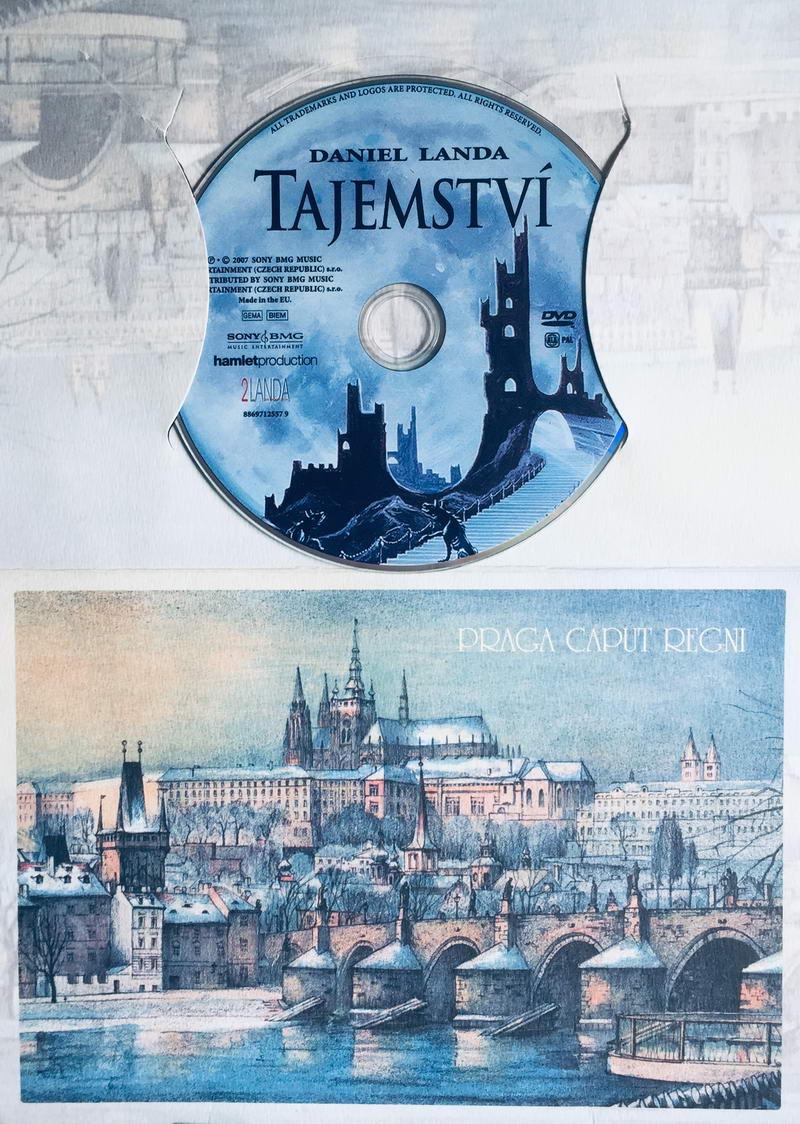 Daniel Landa - Tajemství - DVD /dárkový obal/