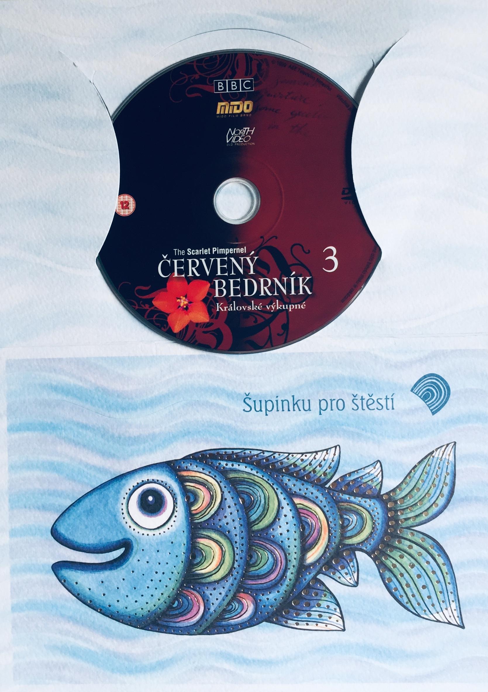 Červený bedrník 3 - Královské výkupné - DVD /dárkový obal/