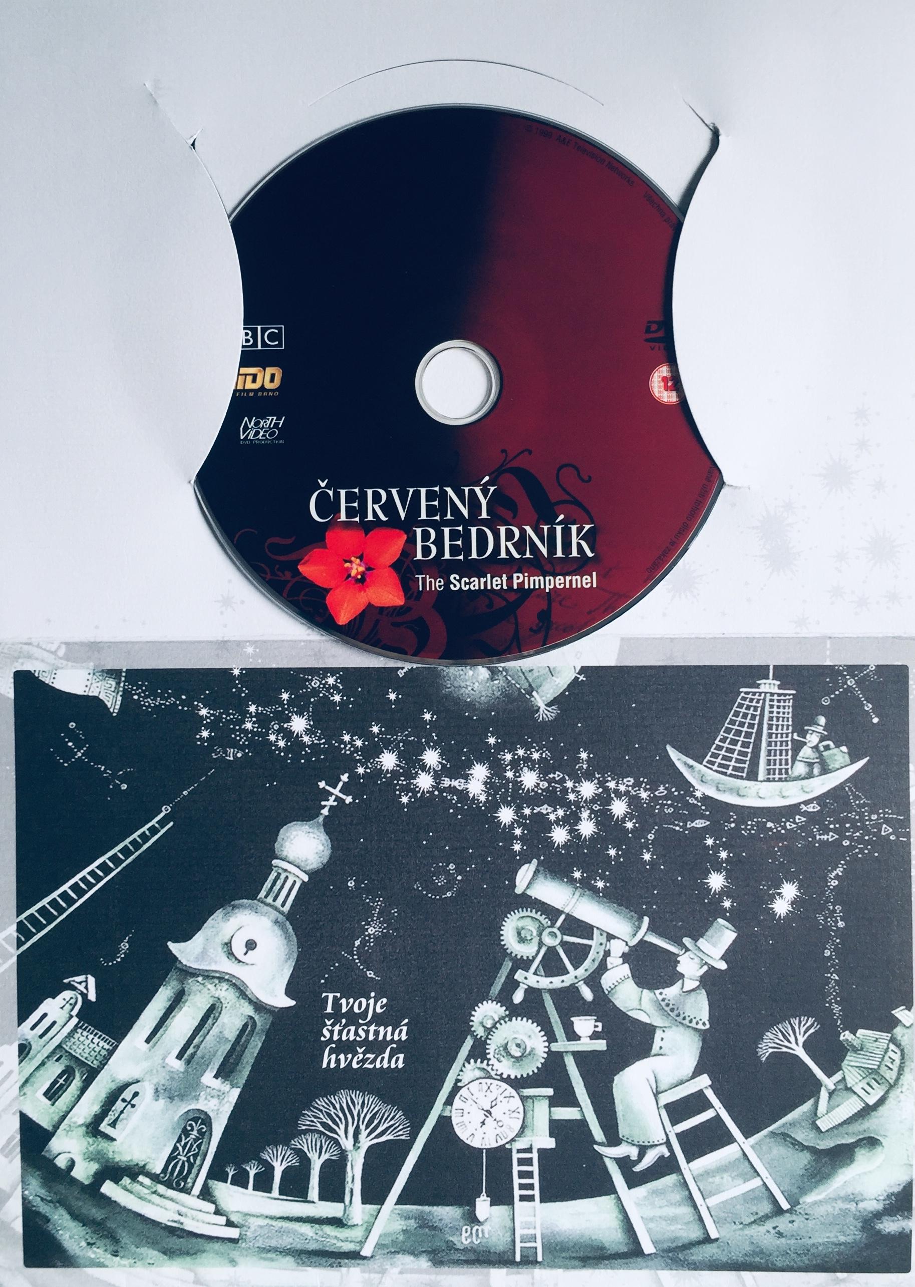 Červený bedrník - The Scarlet Pimpernel - DVD /dárkový obal/