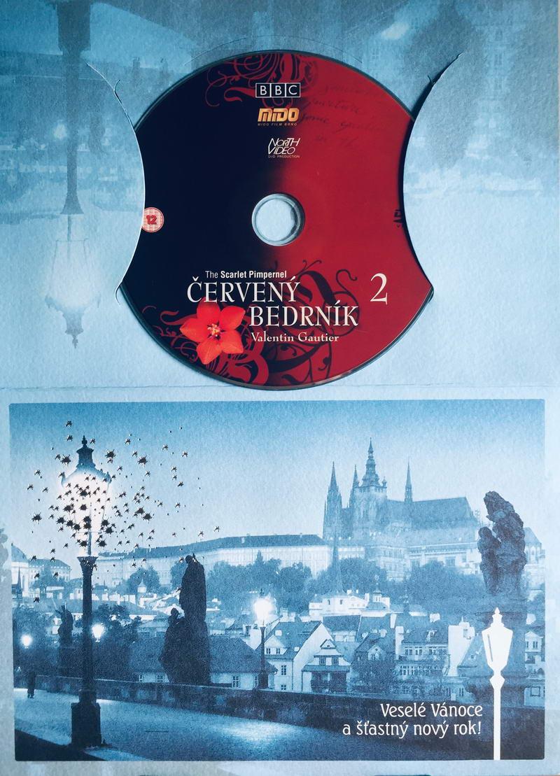 Červený bedrník 2 - Valentin Gautier - DVD /dárkový obal/