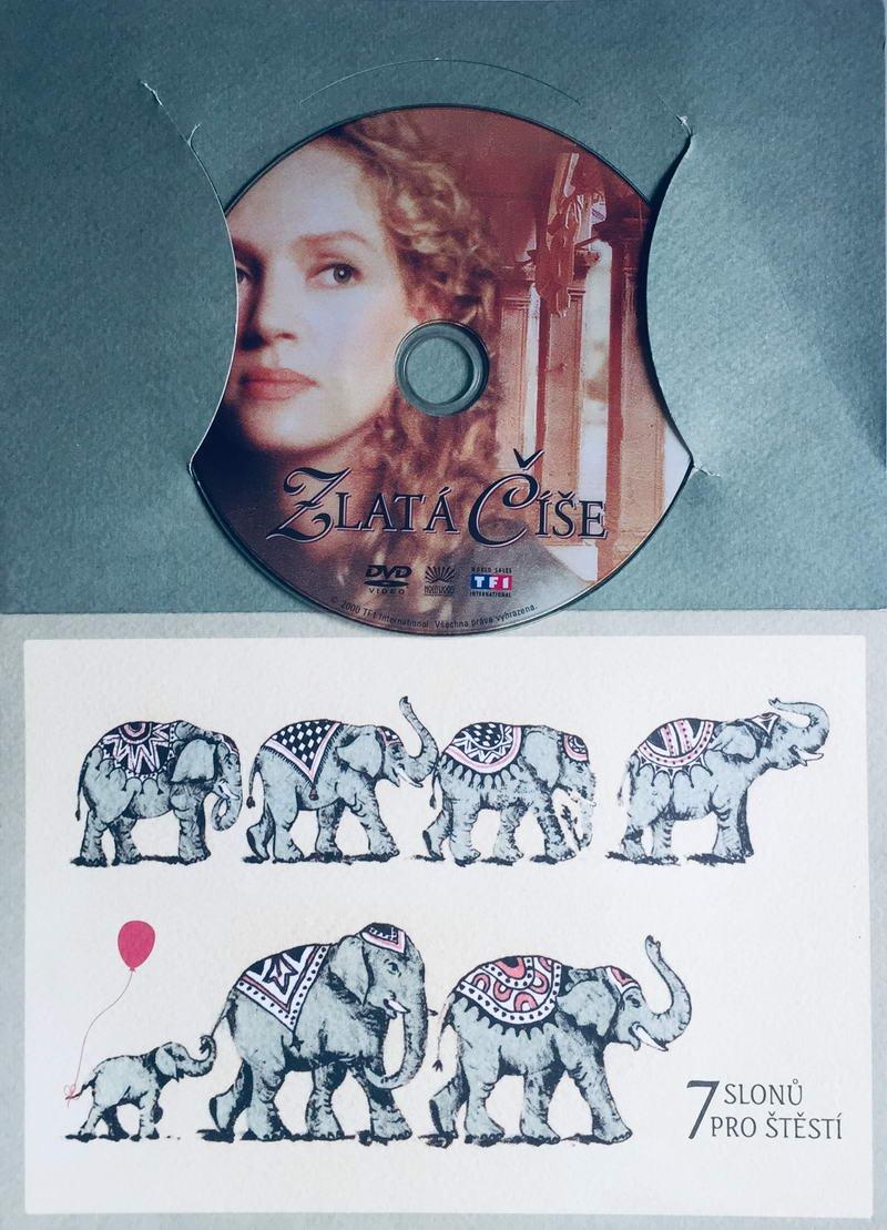 Zlatá číše - DVD /dárkový obal/