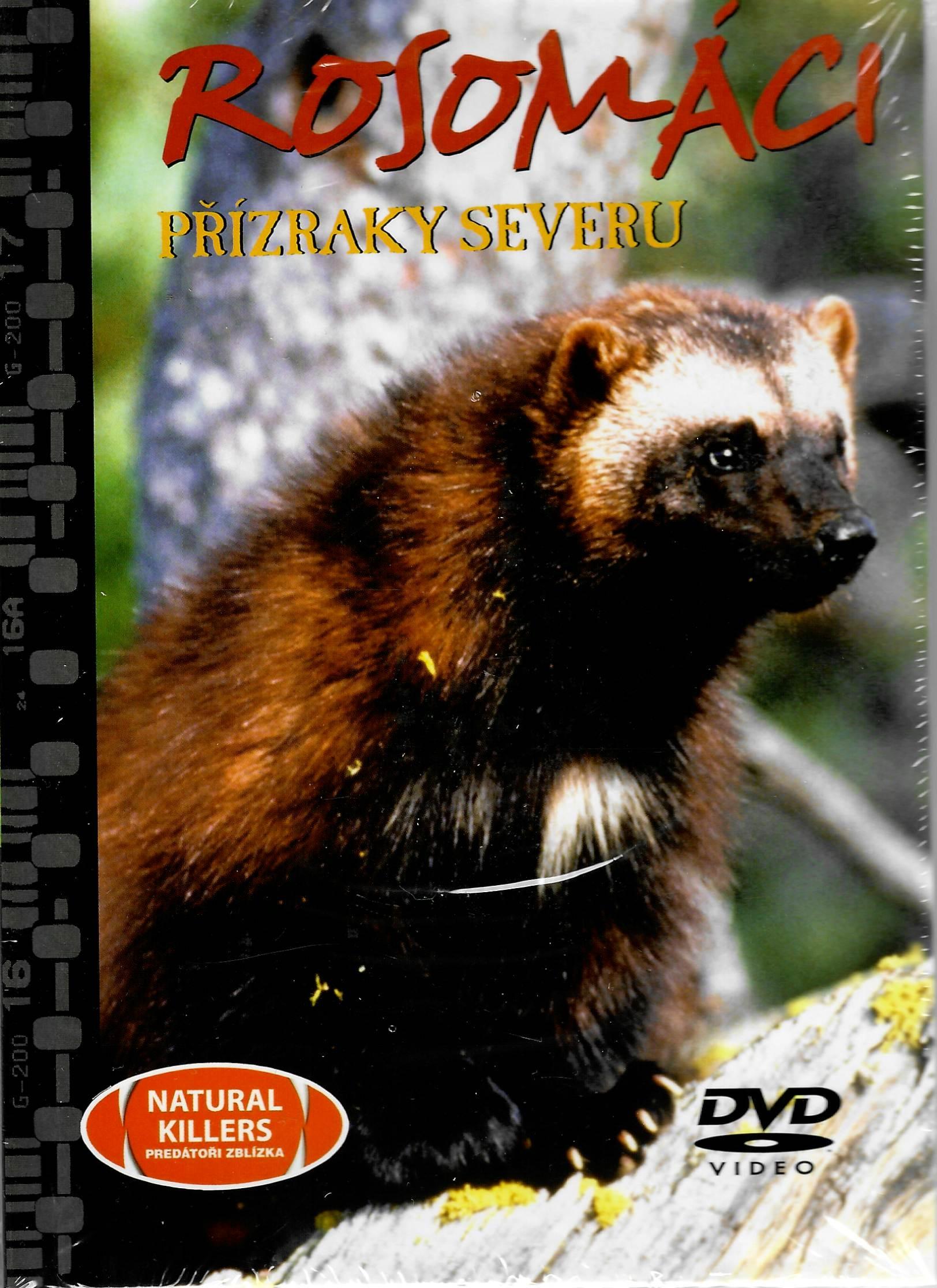 Rosomáci - přízraky severu - DVD + brožura