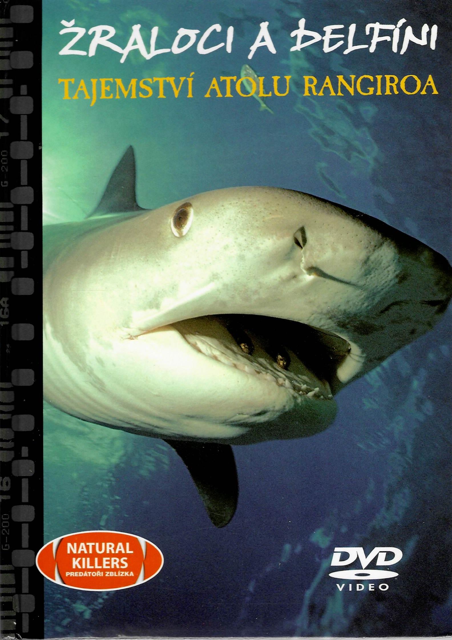 Žraloci a delfíni - tajemství atolu Randiroa - DVD + brožura
