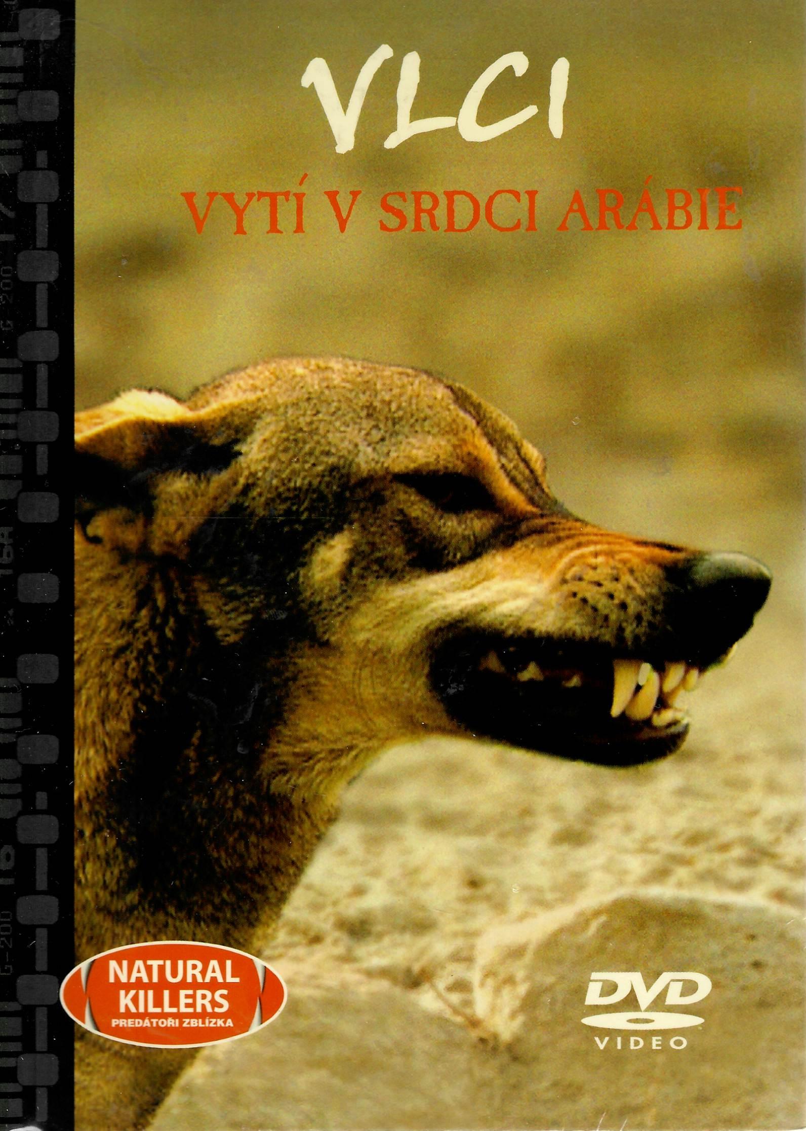 Vlci - vytí v srci Arábie - DVD + brožura