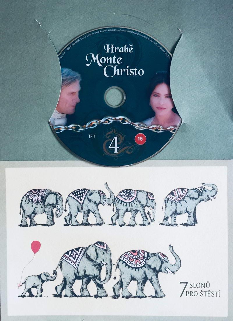 Hrabě Monte Christo 4 - DVD /dárkový obal/