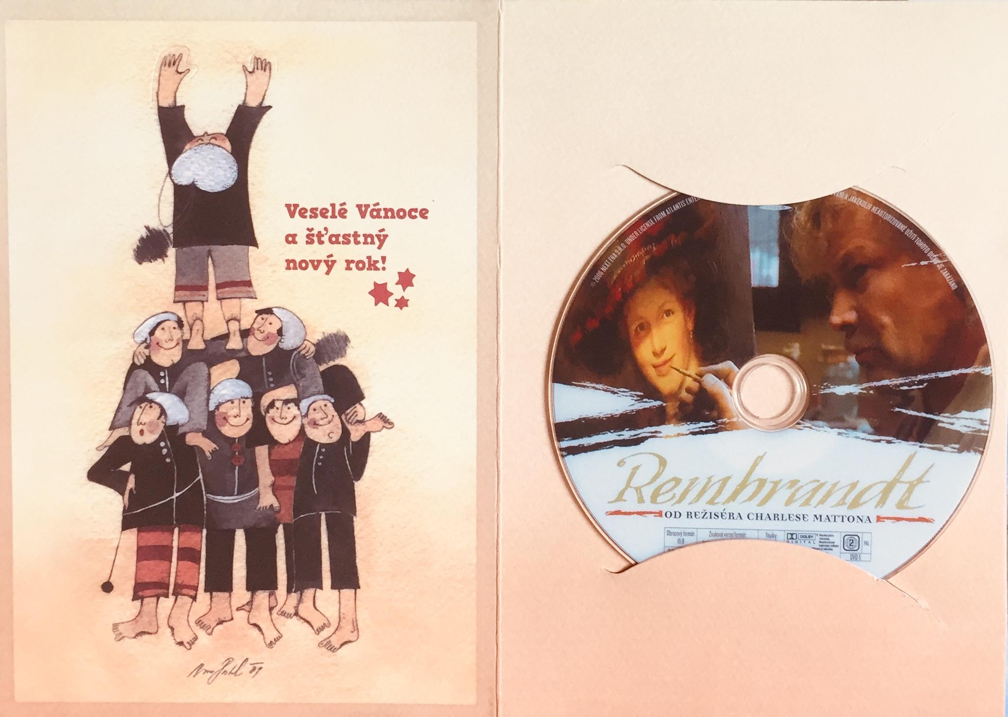 Rembrandt - DVD /dárkový obal/