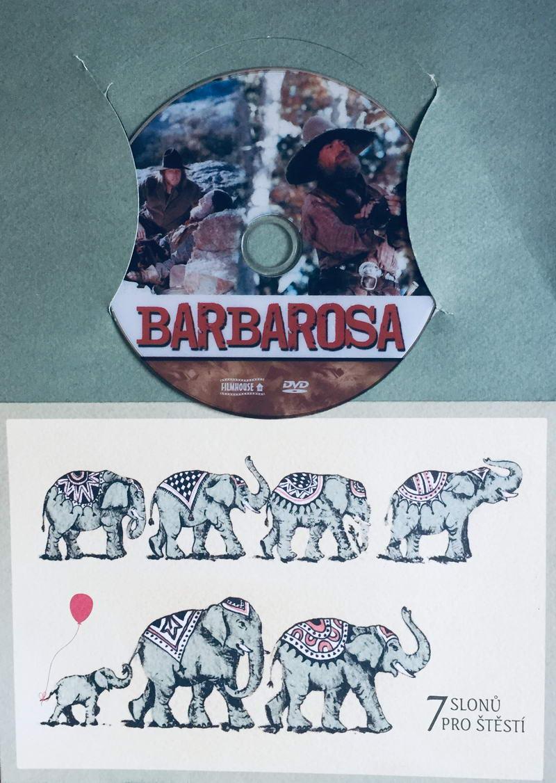 Psanec Barbarosa - DVD /dárkový obal/
