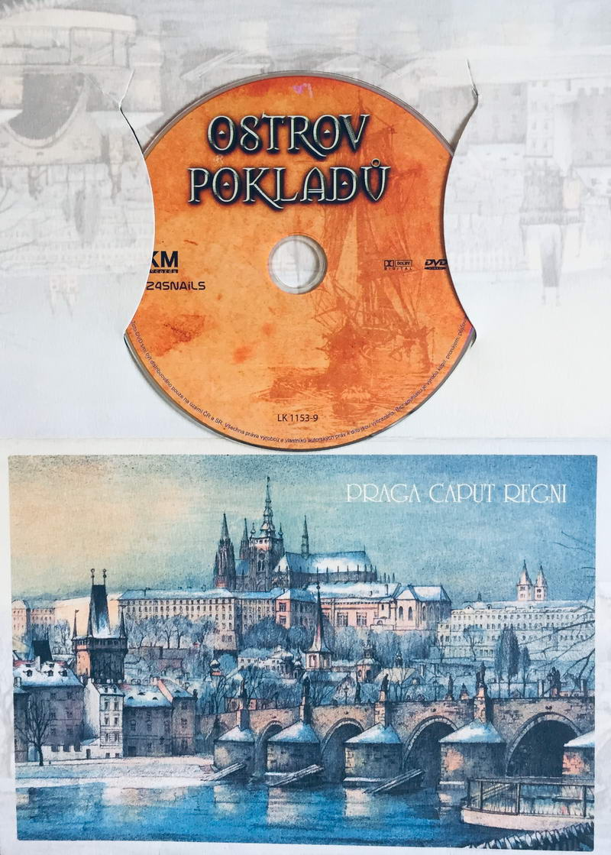 Ostrov pokladů - DVD /dárkový obal/