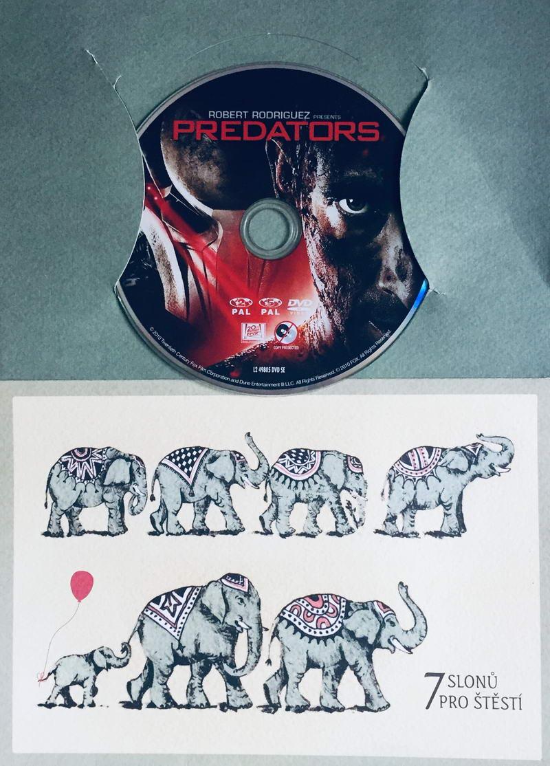 Predators / Predátoři - DVD /dárkový obal/