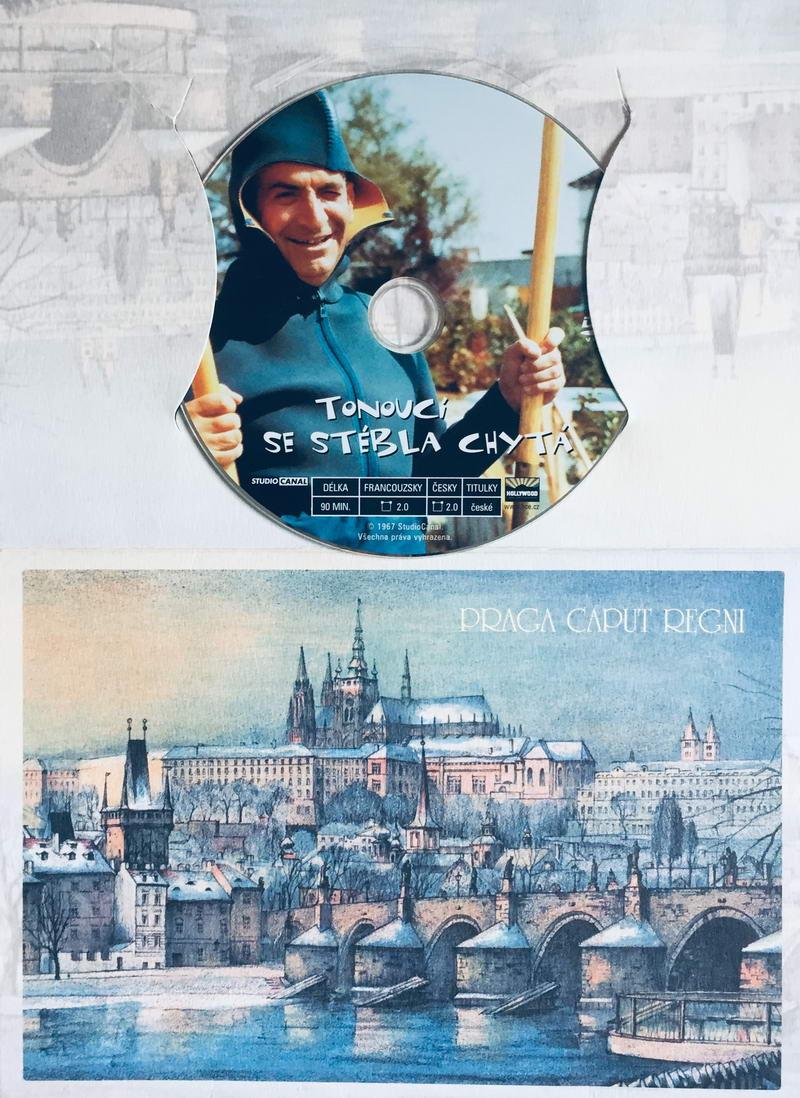 Tonoucí se stébla chytá - DVD /dárkový obal/