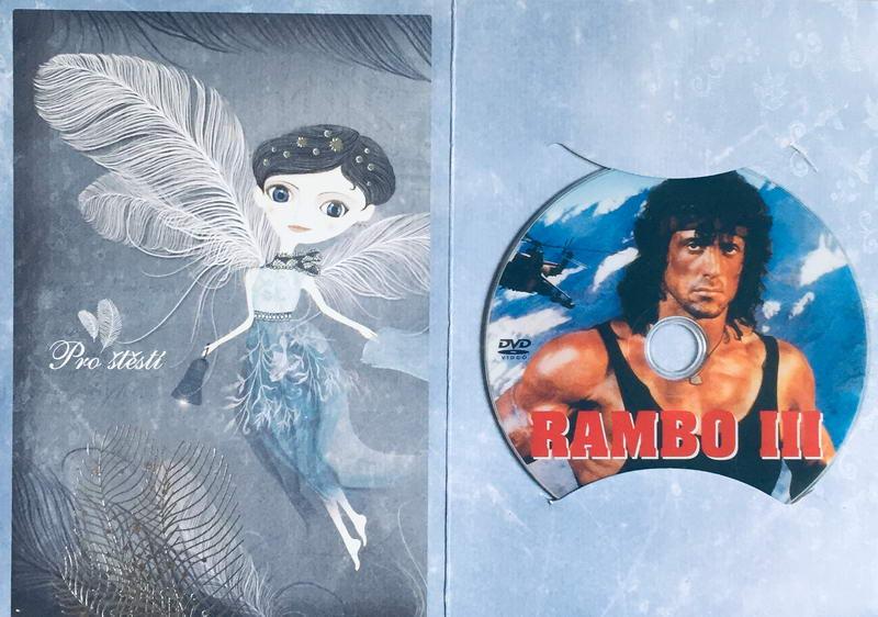 Rambo III - DVD /dárkový obal/