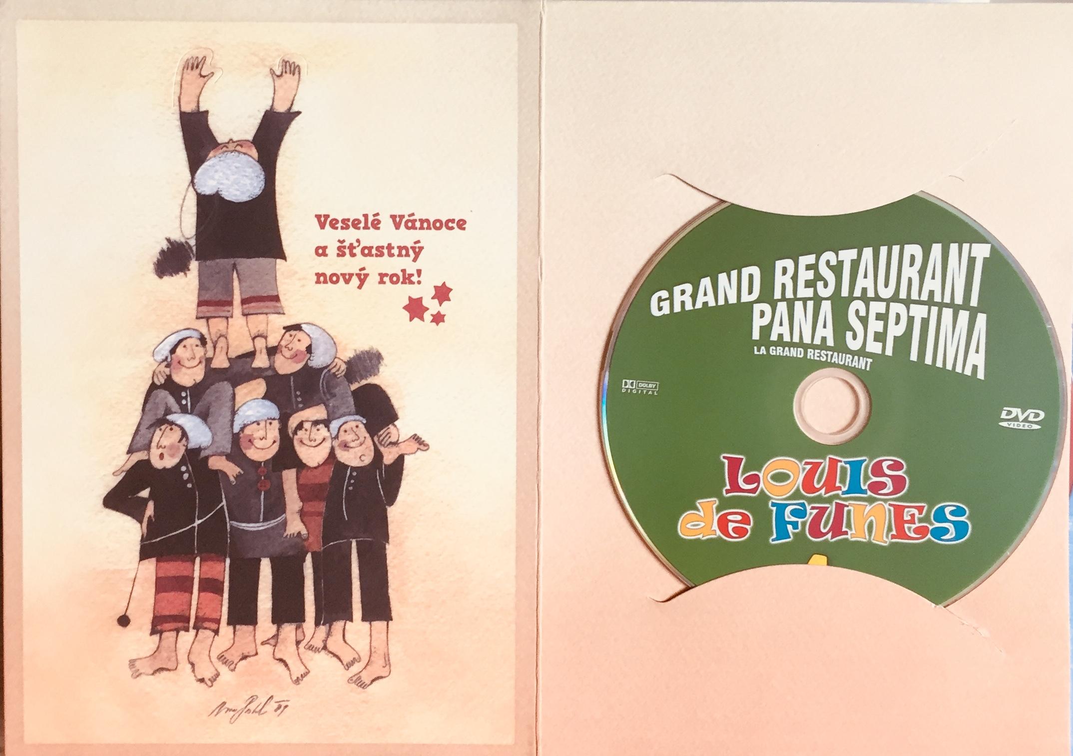 Grand restaurant pana Septima - DVD /dárkový obal/