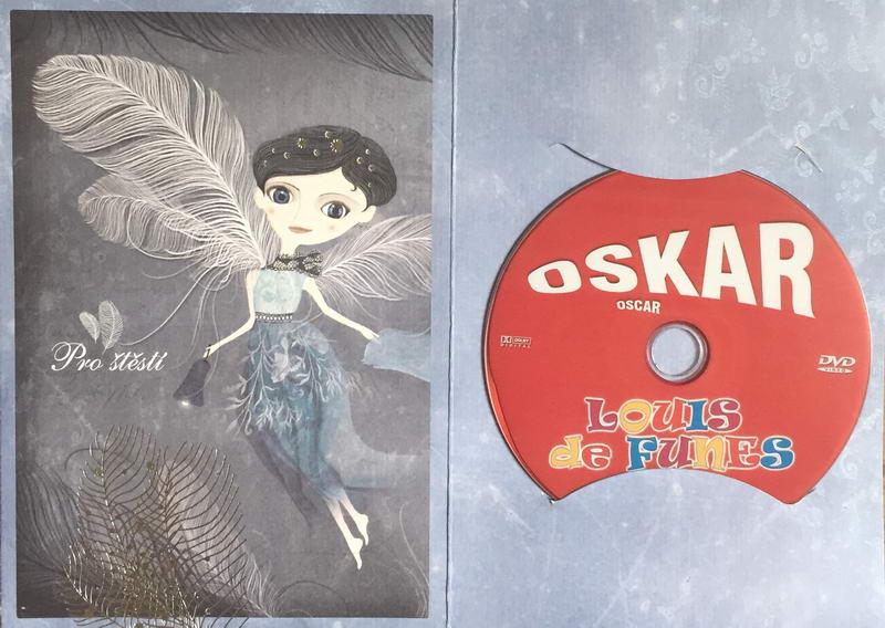 Oskar - DVD /dárkový obal/