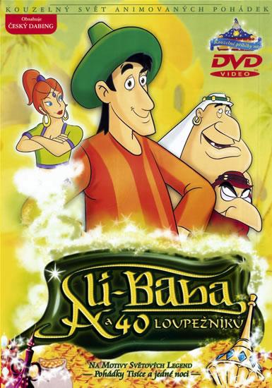 Ali-Baba a 40 loupežníků - DVD /slim/