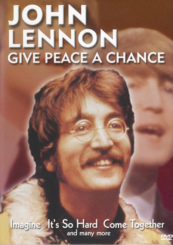 John Lennon - Give Peace a Chance - v originálním znění bez CZ titulků - DVD /plast/